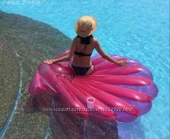 Надувная ракушка. Для пляжа бассейна и вечеринок. Размер 150 см.