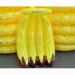 Надувные бананы, для пляжа, бассейна и вечеринок. 155 см