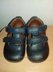 Фирменные кожаные туфли bobbi shoes 21 размер 13, 5см ортопеды