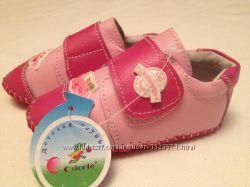 Модненькие туфельки для принцесы р. 17 Натуральная кожа