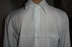 Белая рубашка на возраст 15-16 лет