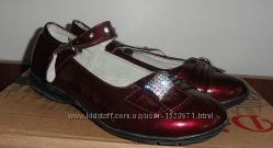 Туфли бордо размер 35