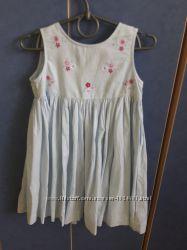 Сарафан платье голубое отличный цвет и состояние