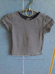 Кофта футболка в полоску для девочки 2-3 года Young Dimension