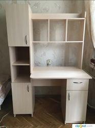 Большой письменный стол Эридан для домашнего кабинета, офиса или в детскую