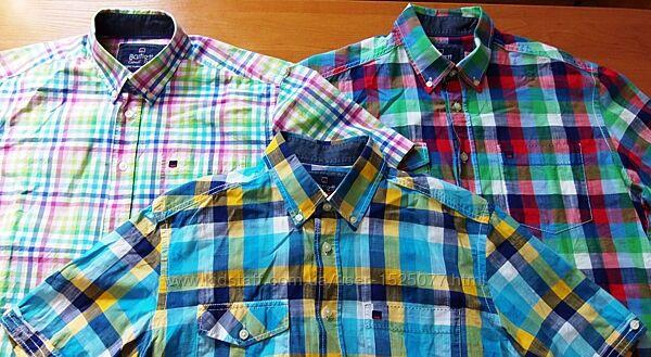 Три за 500 грн. Натуральная 100-хлопок фирменная рубашка Bartlett 48/50 L