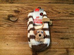 AКЦИЯ 3 за 100 мягкие носки  в виде зверюшек LENS  3D  SOCKS   один размер