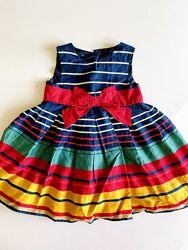 Красивое нарядное брендовое праздничное платье плаття сукня девочке 18-24 м