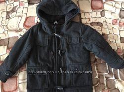 Тёплое пальто для мальчика 2-3 года