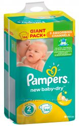 Pampers Active Baby Gigant Pack