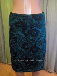 Красивая юбка h&m с рисунком эффект кружева
