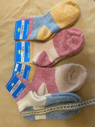 Носки детские пуховые тонкие очень теплые