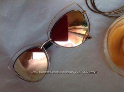 Очки зеркальные Италия суперстильные