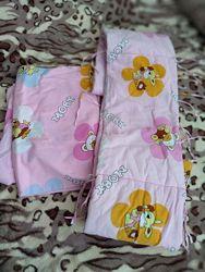 Постельное и одеяльце для девочки