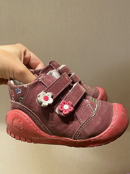 Яркие ботинки-кеды