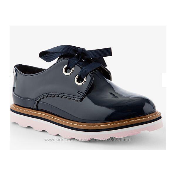 Туфли лаковые нарядные ботинки TU школьные нарядные
