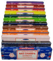 Натуральные благовония Сатья, ароматические палочки,