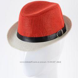 Детская летняя шляпа Челентанка 52-54 разные цвета