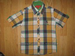 Красиві котоннові фірмові сорочки  на 6-7рочків