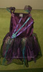 Платье на Новый Год в стиле монстер хай 3-4 года
