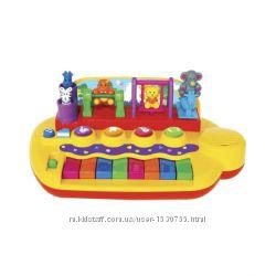 Музыкальное пианино  Зверята на качелях Kiddieland