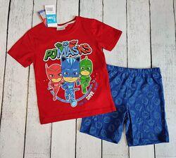 Летняя пижама для мальчика Герои в масках