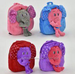 рюкзак мягкий слоник
