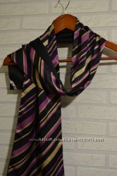 Шёлковый шарф 142х25см