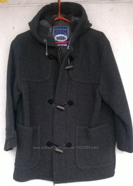 Демисезонная куртка для мальчика 8 10 лет, 100 шерсть, из США