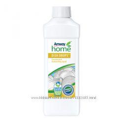 Концентрированная жидкость для мытья посуды DISH DROPS 110488 1литр