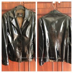 Куртка женская кожаная Размер-M, куртка кожанная