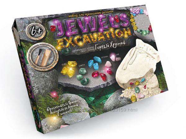 Набор для проведения раскопок Камни Jewels Excavation Данко Той