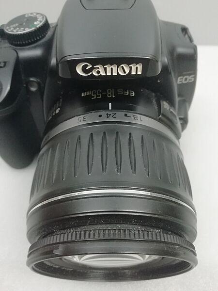 Зеркальная камера фотоаппарат Canon EOS 400D и объектив Canon EFS 18-55 mm