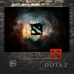 Плакаты по игре Dota 2, Дота2