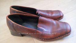 Шкіряні туфлі rieker 39