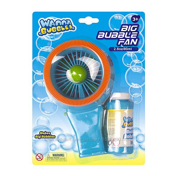 Мыльные пузыри Баббл вентилятор от TM WANNA BUBBLES, 80 мл