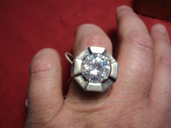 кольцо женское серебро размер 18, 5