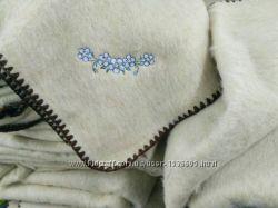 Одеяло  шерсть лен