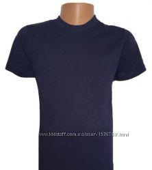 Мужские футболки Темно - синего цвета