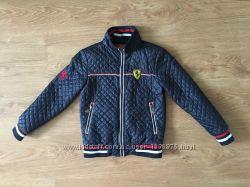 Детская стеганная куртка Ferrari на мальчика