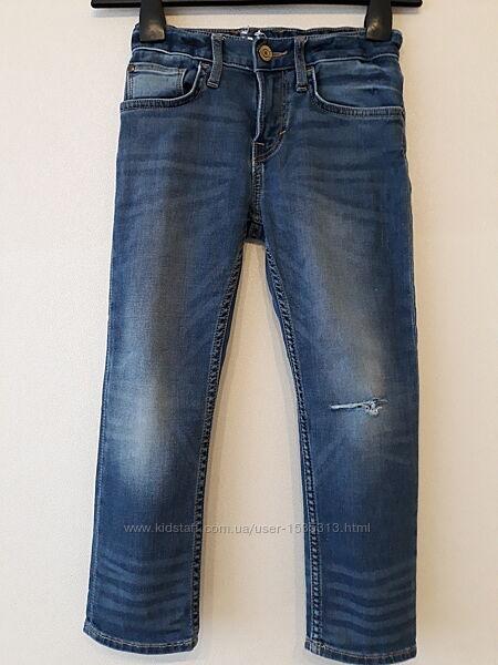 Мальчиковые джинсы на 5-6 лет, рост 116, HM