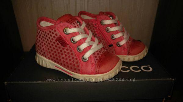 Демисезонные ботинки кроссовки Ecco 20 размер, ст. 13см