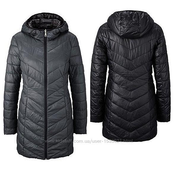 Мягусенькая и невесомая двухстороння деми куртка -пальто tchibo