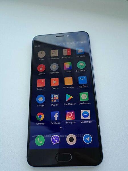 Meizu MX6 silver 4/32 на iphone