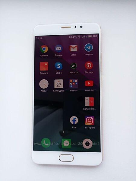 Meizu Pro 6 Plus 4/64Gb Gold возможен обмен на iphone