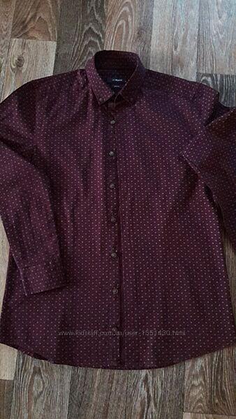 рубашка из плотного хлопка 44-46р