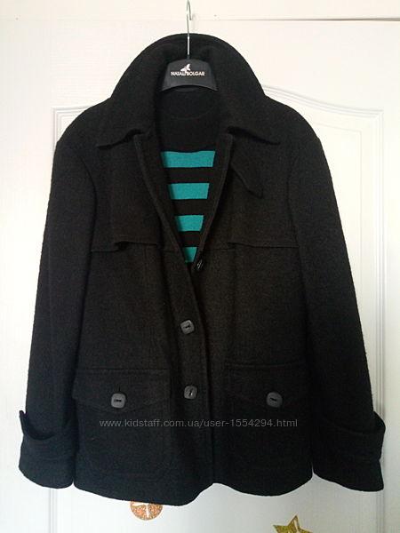 Женское пальто natali bolgar 65 шерсть, 35 вискоза