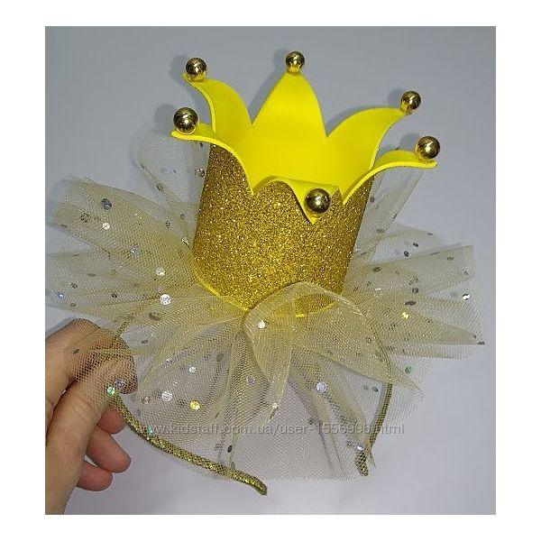 Обруч Корона для девочки