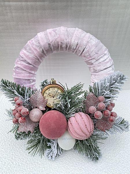 Новогодний или Рождественский веночек