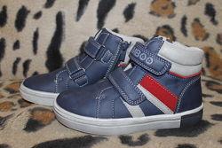 Детские демисезонные ботинки для мальчика р.27-32